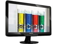 NEW PHILIPS 21.5 FULL HD LCD LED FLAT SCREEN COMPUTER MONITOR