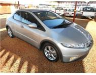 2007 Honda Civic 1.8i-VTEC EXi 5Dr 6 Speed Finance NO Dep!!