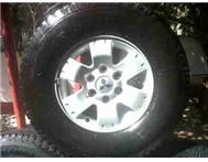 Pajero 16 Mags and tyres R4500 BARG...