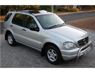 CLEAN!! MERCEDES BENZ ML320 AUTO 7 SEATER