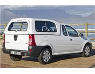 Drive and own a new Nissan NP200 from R 1599 p/m.
