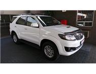 Toyota - Fortuner III 2.5 D-4D VNT Raised Body