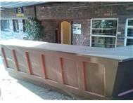 FREE wooden bar/counter require your own means of collection