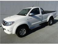 2011 Toyota Hilux 3.0D-4D 4x4 M/T Single Cab