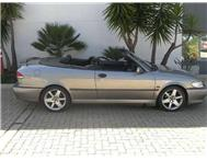 2001 SAAB 9-3 SE 2.0 Turbo Convertible R59 500