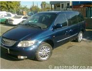 2003 CHRYSLER VOYAGER 3.3L Limited