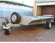 Trailer open type 4 meter long x 2 meter wide