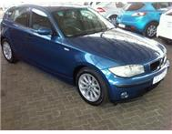 2007 BMW 118i (E87) Manual 96000km Pretoria