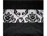 Flocked Taffeta Table Runner - Bulk Sale