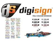 Boat Registration Decals Branding Wraps and Design.