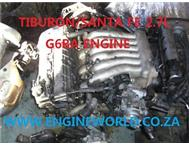 Hyundai Santa Fe 2.7L V6 engine used/imported
