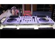 White Limited Edition 2 X Pioneer CDJ-2000 Pioneer DJM-900 Nexus