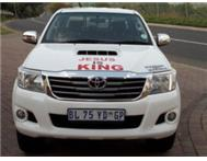 2011 Hilux 3.0 D4D 4X2 Auto Double Cab - New Shape (White)