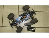 TAMIYA TNX RADIO CONTROL FUEL CAR