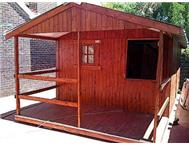 Wendy house wooden 3m x 4.8m and 1...