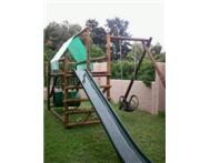 Wooden jungle gym (Elzaan) new