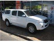 2011 TOYOTA HILUX 2.7 D/C!!! ON THE ROAD INCLUDED