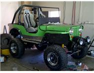 CJ 2 A Willys Jeep 2.4 Turbo