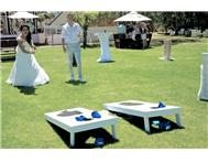 Unique American Game for Hire: Corn-hole Toss