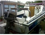 Cabin Boat for sale R30000 or to swap for combi
