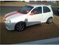 Opel corsa 1.6 to swap for bakkie
