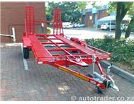 2012 CAR TRANSPORT TRAILER DOUBLE AXLE