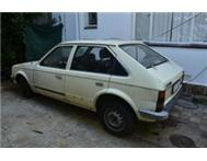 opel kadett for spares