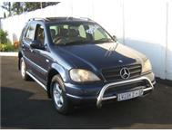 MERCEDES BENZ ML 320 AUTO MAGS FULL SERVICE HISTROY SUNROOF E/