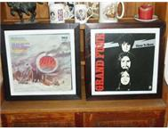 FRAMED VINYL LP RECORD S