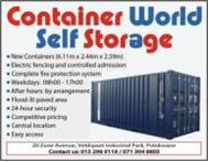AFFORDABLE STORAGE FACILITIES (INSTANT SPACE SOLUTIONS)