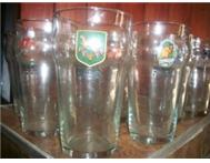 Rugby World Cup 1995 - never used - complete set beer glasses