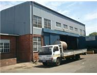 678 SQM PINETOWN FACTORY IN COMPLEX TO LET