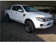 2012 Ford Ranger 2.2 XLS Double Cab 4x4 M/T