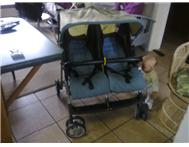 Graco twin double sided pram.