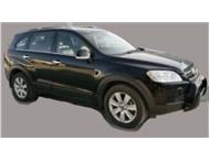 2008 Chevrolet Captiva 2.0D LTZ - Black