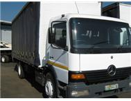 MERC ATEGO SINGLE DIFF CURTAIN SIDE Sandton