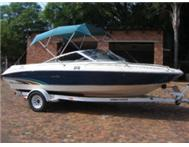 Sea Ray 190 Signature with a Mecruiser V8