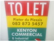 146m2 SHOP TO LET IN PRIME OLD PAARL RD BRACKENFELL CAPE TOWN