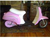 Girls scooter as new