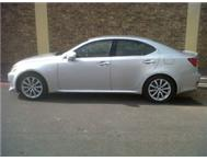 2008 Immaculate Lexus IS 250 SE A/T R199 995.00