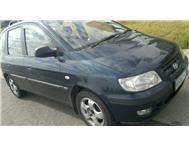 lovely hyundai 1.6I matrix...navy...r33000 neg