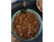ANTIQUE WOODEN SCRABBLE PIECES FOR SALE @ R10each