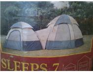 Camp master 7 man tent. Very good condition.