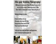 WIN an 8 hour WEDDING PHOTOGRAPHY package with CBMP!