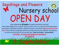 Open Day Seedlings and flowers nurs...