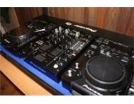 2x pioneer cdj400 DJM400 Mixer coffin case headphones(Blue Witbank Mpumalanga