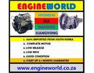 Hyundai H100 2.6D engine semi recon