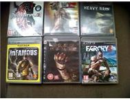 6 ps3 games swop/sale !!