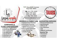 Company & Divorce Applications Online