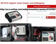 MEGGAR INSULATION TESTER